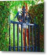 Charleston Gate 1 Metal Print