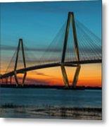Charleston Golden Hour Metal Print