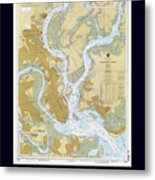Charleston Harbor Metal Print