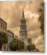 Charleston Light Metal Print