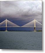 Charleston Ravenel Bridge Metal Print