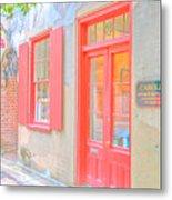 Charleston Sc Catfish Row Metal Print