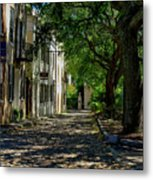 Charleston Side Street Metal Print