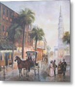 Charleston Somewhere In Time Metal Print