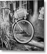Charleston Street Bike Metal Print