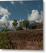 Charleston Walled Garden Metal Print