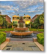 Charleston Welcomes You Metal Print