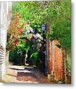 Charlestons Alley Metal Print