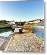 Charlestown From The Sea Wall Metal Print