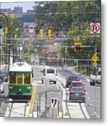 Charlotte Streetcar Line 2 Metal Print