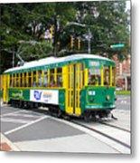 Charlotte Streetcar Line 3 Metal Print