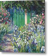 Charmed Entry - Monet Metal Print