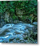 Charming Creek Walkway 1 Metal Print