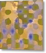 Chartreuse Two  By Rjfxx. Original Abstract Art Painting. Metal Print