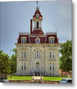 Chase Co Courthouse Metal Print