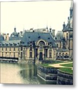 Chateau Chantilly Metal Print