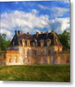 Chateau D'acquigny  Metal Print