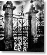 Chateau De Carrouges Metal Print