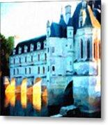 Chateau De Chenonceau Metal Print