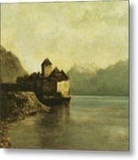 Chateau De Chillon Metal Print