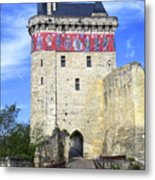Chateau De Chinon Metal Print