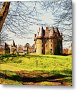 Chateau De Landale Metal Print