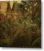 Chateau In The Jungle Metal Print