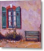 Chateau Pioget  Loire Valley France Metal Print