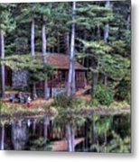 Chatfield Hollow Cabin Metal Print