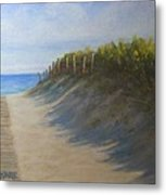 Chatham Beachwalk Metal Print
