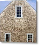 Chatham Boathouse Metal Print