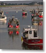 Chatham Harbor Metal Print by Juergen Roth