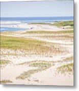 Chatham Lighthouse Beach Metal Print