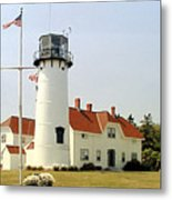 Chatham Lighthouse Metal Print