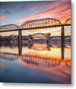Chattanooga Sunset 5 Metal Print