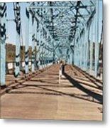 Chattanooga Walking Bridge Metal Print by Jake Hartz