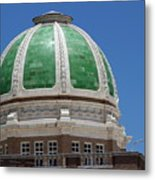 Chaves County Courthouse Green Terracotta Dome Metal Print