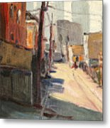 Chavez Alley Metal Print