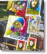 Che Guevara And Other Artwork Metal Print