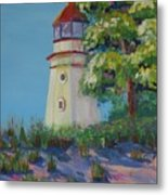 Cheboygan Lighthouse Metal Print