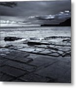 Checkerboard Squares Metal Print