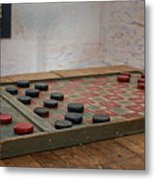 Checkered Past - Checkers Metal Print