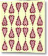 Checkered Metal Print