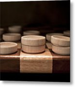 Checkers I Metal Print