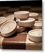 Checkers IIi Metal Print