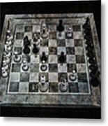 Checkmate In One Move Metal Print