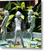 Cheekwood Fountain Metal Print