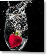 Cheers 2 You Metal Print