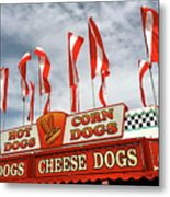 Cheese Dogs Galore Metal Print