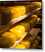 Cheese Factory Metal Print
